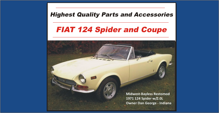 Fiat 124 S C Parts Midwest Bayless Italian Auto