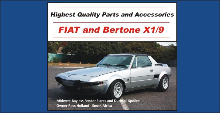 Fiat x19 parts