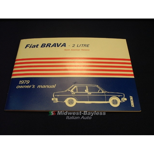 fiat 131 owners manual fiat brava 2 litre 1979 oe nos rh midwest bayless com fiat bravo user manual fiat bravo service manual pdf