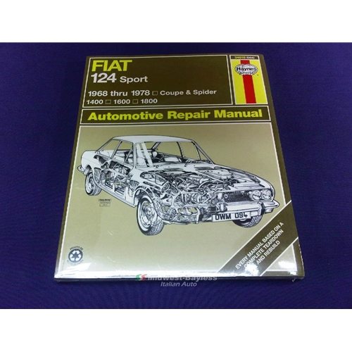service manual haynes fiat 124 spider coupe 1968 78 new rh midwest bayless com abarth 124 spider service manual fiat 124 spider workshop manual pdf