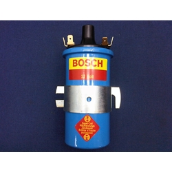 Ignition Coil - For Points-Style Systems - BOSCH Super Blue - Also Pertronix and 123 (Fiat Lancia All) - NEW