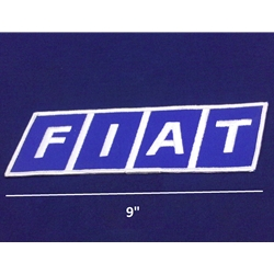 "Rectangular ""F/I/A/T"" Patch - Large 9""x2.5"""