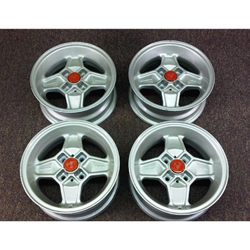 Alloy Wheels SET 4x Cromodora CD-30 13x5.5 (Fiat 124, X19, 850, 128, 131, Lancia) - NEW