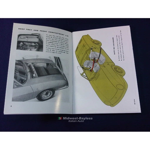 owners manual fiat 850 spider 1967 1968 new rh midwest bayless com 1970 Fiat 850 Racer 1973 Fiat 850 Spider