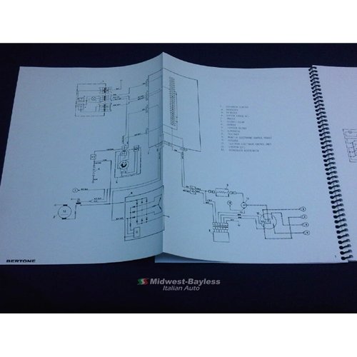 Admirable Wiring Diagrams Manual Fiat Bertone X19 1985 88 New Wiring 101 Archstreekradiomeanderfmnl