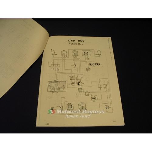 Fiat X19 Wiring Diagram Simple Siterh1671ohnevergnuegende: 1977 Fiat 124 Wiring Diagram At Gmaili.net