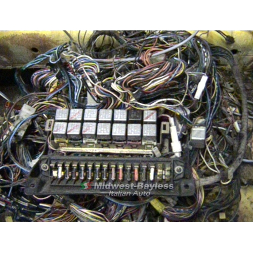 Wondrous Italian Wiring Harness Basic Electronics Wiring Diagram Wiring Digital Resources Bocepslowmaporg