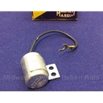 Ignition Condenser - Primary Side (Fiat 124, 131 1975-78 w/Marelli S144CBY Dist.) - OE