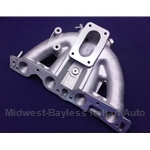"Intake Manifold DOHC 1800 ""Single Plane"" w/Threaded Mount Points (Fiat 124 Spider, 131 1974-78 + All) - U9"