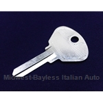 Key Blank - Ignition (Fiat Lancia All 1967-85) - NEW