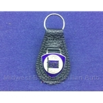 Key Fob Key Ring LANCIA Shield Logo Enamel - NEW