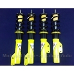 KONI Double Adjustable Strut SET Front and Rear - Coil Over (Fiat Bertone X1/9 All) - NEW