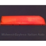 Turn Signal Lens Rear Right - Red (Lancia Beta Coupe All) - OE NOS