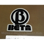 "Lancia ""B BETA"" Decal Vintage (Lancia Zagato Coupe HPE Scorpion)"