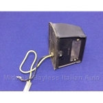 License Plate Light - Black (Fiat X1/9, 124, 850, 128, Lancia Beta) - U8