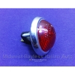 Marker Light Red (Fiat 124 Spider Coupe, 850 to 1969 + Other Italian) - OE NOS