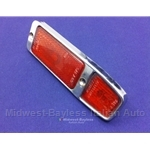 Marker Light Red (Fiat 124 Spider, 850 Spider 1970) - U8