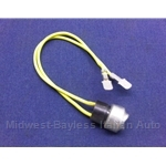 Air Conditioning Switch - Temp Switch Yellow 56c / 50c (Fiat Lancia All) - OE