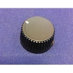 Air Conditioning Rotary Switch Knob (Fiat X19 1973-78) - OE NOS
