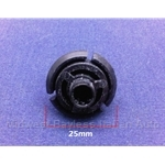 Moulding Retaining Clip 25mm (Lancia Beta) - OE NOS