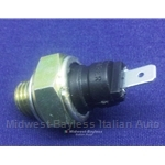 Oil Pressure Warning Light Sending Unit (Fiat 850 Coupe Sedan 1966-71) - OE NOS