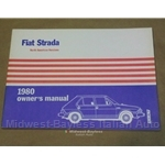Owners Manual (Fiat Strada 1980) - OE NOS