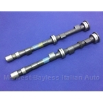 Performance Camshaft DOHC 245 Degree PAIR 2x (Fiat 124 All, 131 All, Lancia Beta 1975-79) - NEW