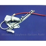 Power Window Regulator Assembly Right (Fiat Bertone X19 1985-88) - U8