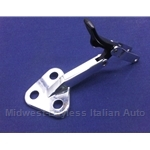 Quarter Window Latch Rear Left Chromed (Fiat 128 Sedan All) - OE NOS