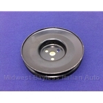 Air Pump V-Belt Pulley (Fiat 124 Spider, 131 1977-78) - OE NOS