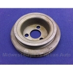 Water Pump V-Belt Pulley Dual Groove for Smog Pump - 8mm  (Fiat X1/9 1977-78) - U8
