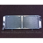 Radiator (Fiat Bertone X19, Lancia Scorpion Montecarlo All) - IMPROVED ALUMINUM!