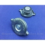 Radiator Cap - Short Neck 13lb / Expansion Tank Cap  (Fiat X1/9, 124 Spider, 131, 128, Lancia) - NEW