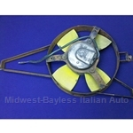 Radiator Cooling Fan Assembly (Fiat 124 Spider 1979-80 w/Carb) - U8