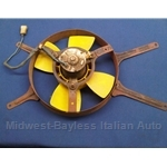 Radiator Cooling Fan Assembly  (Fiat 128 Sedan Wagon 1976-78) - U8