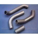 Radiator Hose - SET x 4 (Fiat 124 Spider Coupe 1975-85) - NEW