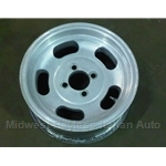 "Alloy Wheel ""Slot Style"" 13x5.5"" 4x98 - U8"