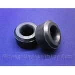 Radius Rod Bracket Bushings PAIR 2x (Fiat X19, 128, Lancia Scorpion) - NEW