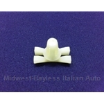 Nylon Trim Clip Rear Valence 17x9mm - Rear (Fiat 124 Sedan) - OE NOS