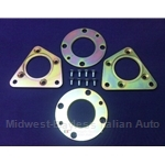 Rear Disc Brake Conversion Brackets KIT (Fiat 128 All)