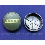 "Alloy Wheel Center Cap ""FIAT"" (Fiat 124 Spider, X1/9, 131, 128) - U7.5"