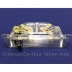 Rear View Mirror Map Light Courtesy Light (Fiat 124 Coupe, 850 Sedan) - OE NOS