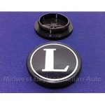 "Alloy Wheel Center Cap ""L"" (Lancia Beta All) - OE NOS"