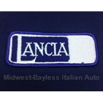 "Rectangular ""LANCIA"" Patch - Blue + Silver inlay Lancia"