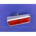 Reflector Red Rear Left (Fiat 850 Spider 1970-73) - U8