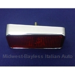 Reflector Red Rear Left (Fiat 850 Spider 1970-73) - OE NOS