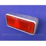 Reflector Red Rear Right (Fiat 850 Spider 1970-73) - U8