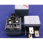 "Relay 5-Pin Normally Closed 30A Bosch ""332 204 107"" - OE"