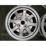 Alloy Wheel F.P.S. (Lancia Beta, Scorpion, Fiat 124 Spider, 128, 131) - RECONDITIONED