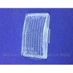 Reverse Light Lens Left (Fiat 124 Spider 1970, 1973-78) - OE NOS